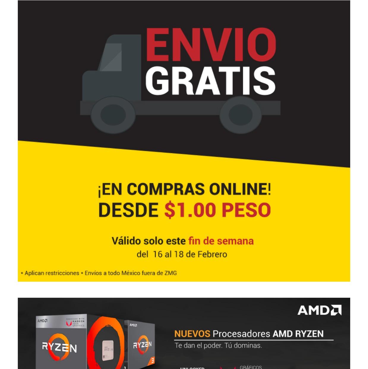 Digitalife: Envíos gratis 16-18febrero18