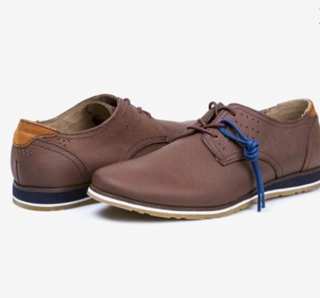 Coppel: Zapatos Flexi cafés $499 envío gratis