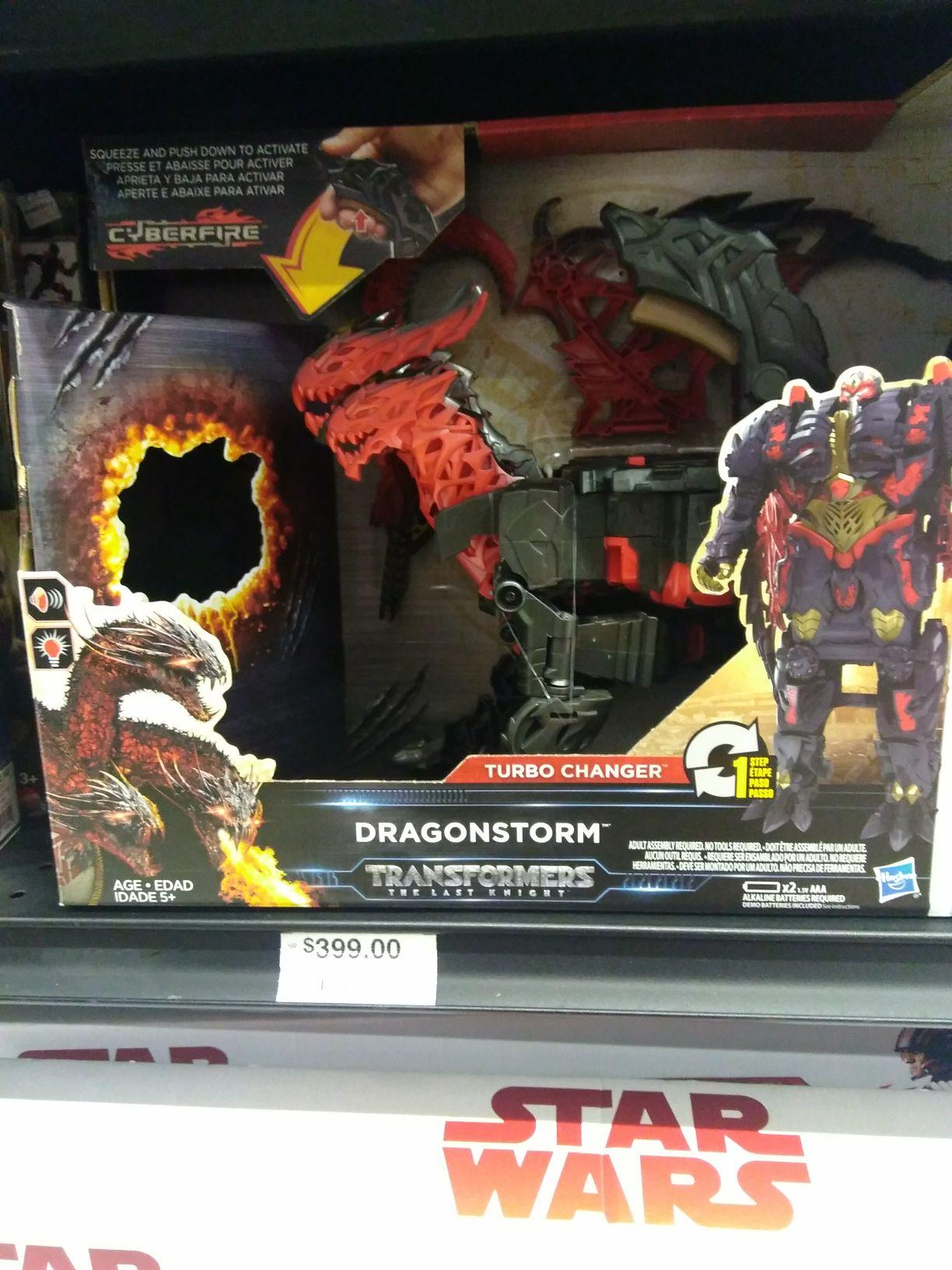 Chedraui: Transformers Dragonstorm y mas juguetes.