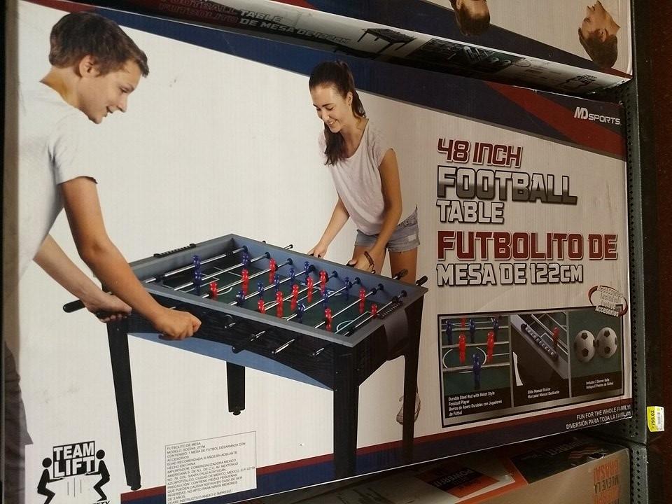 Walmart: Futbolito