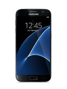 Amazon: Samsung Galaxy S7 Negro 32GB Sprint Bloqueado.
