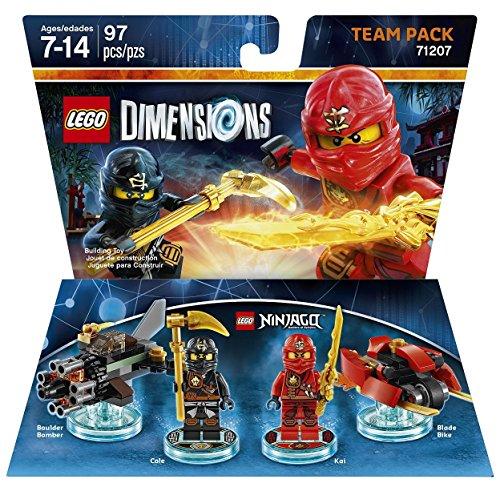 Amazon Lego Dimensions Ninjago Team Pack Kai & Cole