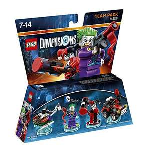 Amazon Lego Team Pack Joker & Harley