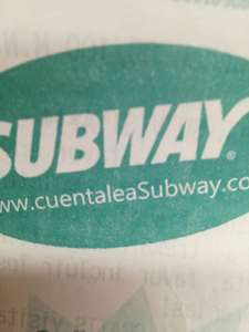 Subway Nativitas CDMX: 2 x 1 subway