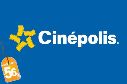 Boletos para Cinépolis de lunes a domingo a $25