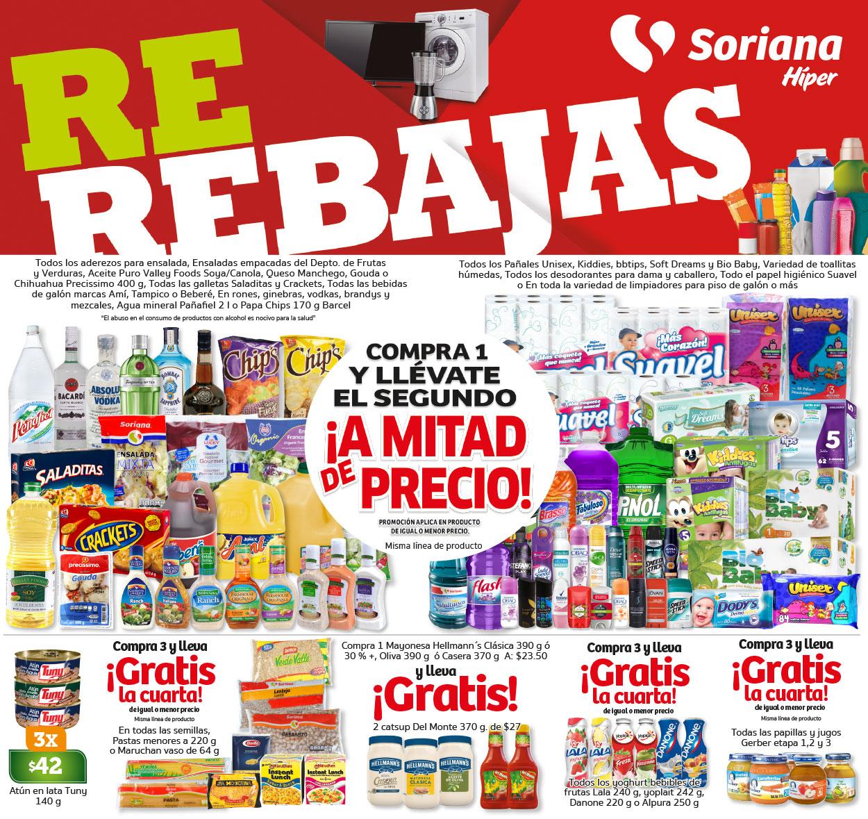 Soriana Híper y Súper: Ofertas de Fin de Semana