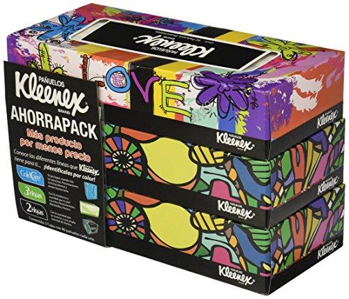 amazon. Kleenex 90's Pañuelos Faciales Desechables, 3 Cajas con 90 Unidades