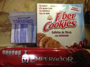Superama - Galletas Emperador y Fiber cookies