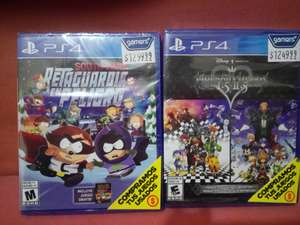 Gamers: Kingdom Hearts I.5 + II.5 ReMix y South Park: Fracture But Whole