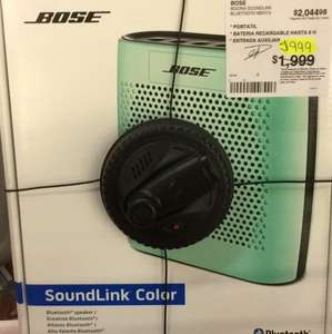 Sam's Club: Bocina Bose Soundlink Bluetooth