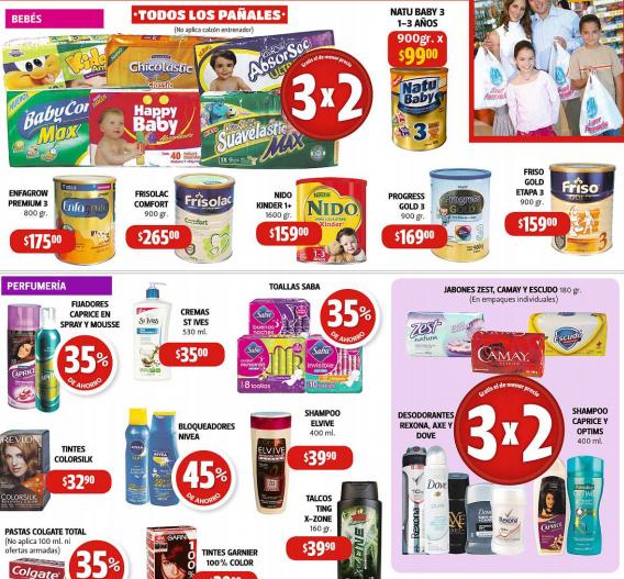 Farmacias Guadalajara: 3x2 en todos los pañales y jabones, desodorantes y shampoos seleccionados