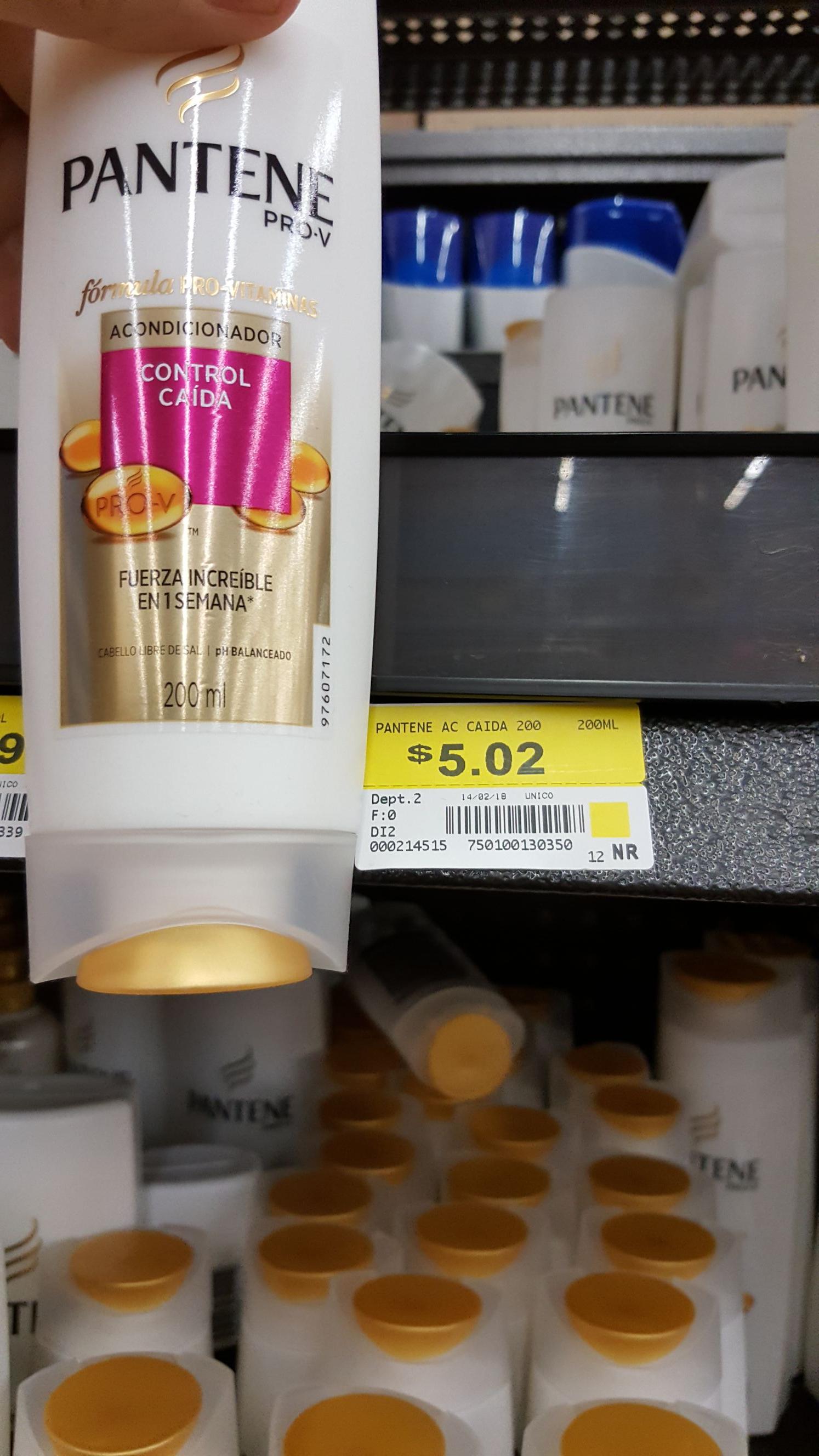 Walmart: Acondicionador pantene, Cereal Corn flakes miel, Letrero con luz y Knorr sabor chiles en liquidación