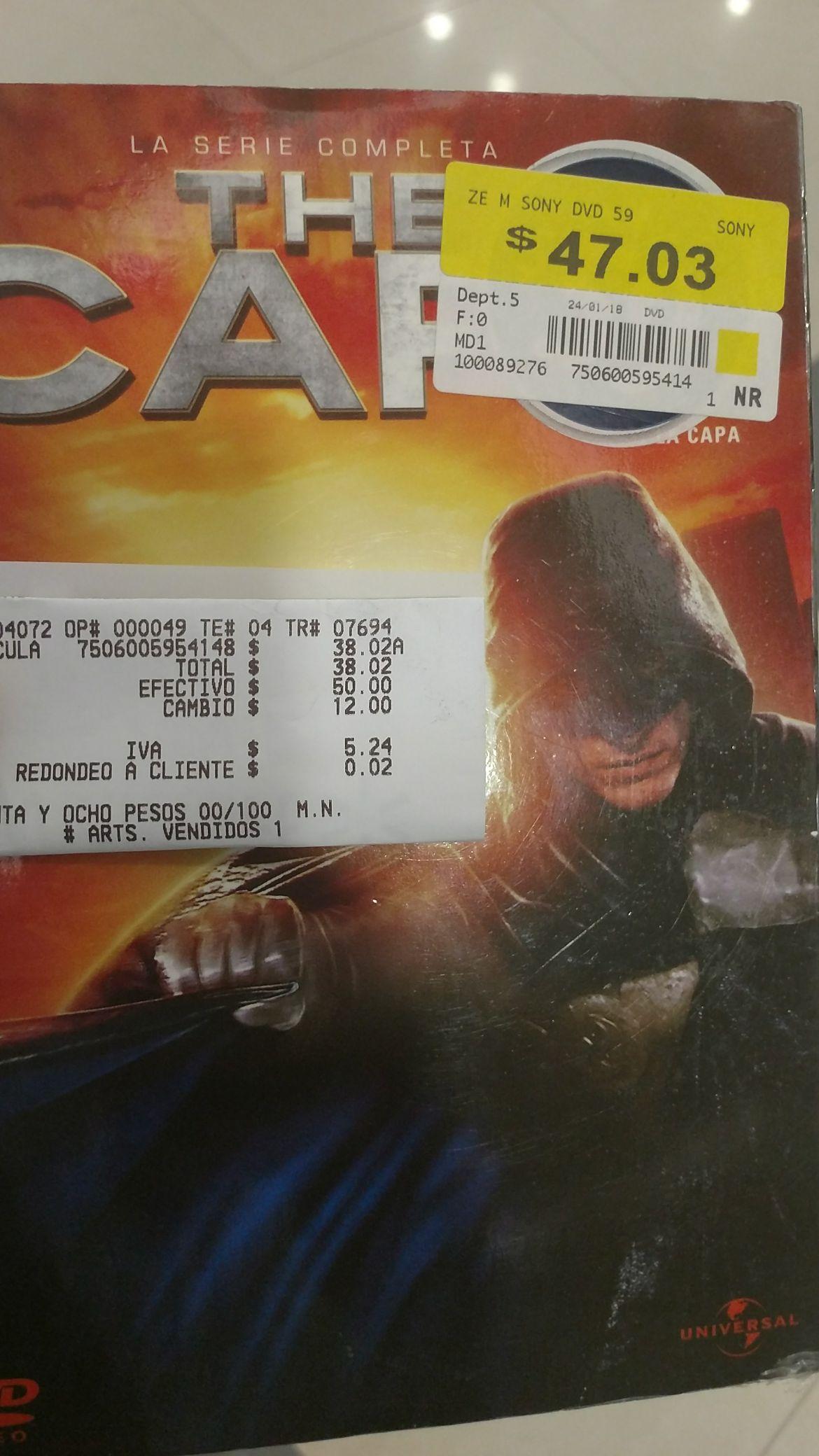 Walmart Tapachula: Serie la capa $38.02