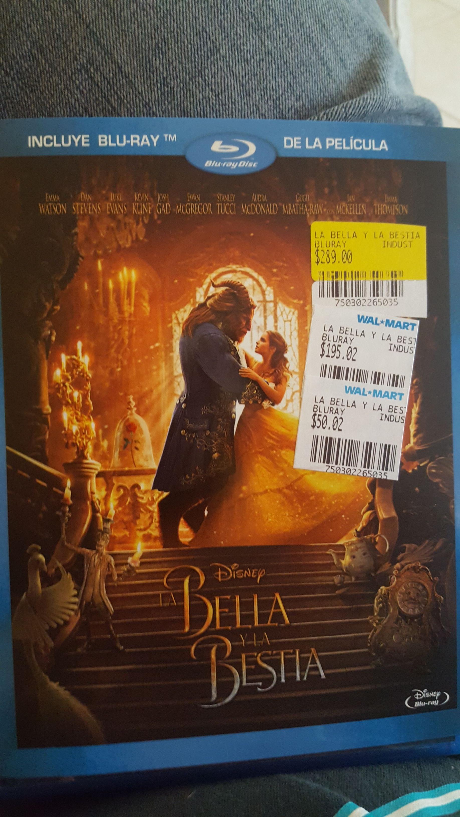 Walmart Mexico 68: Bluray La Bella & La Bestia