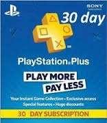 Suscripción de 1 mes a Playstation Plus a $3.30 dólares