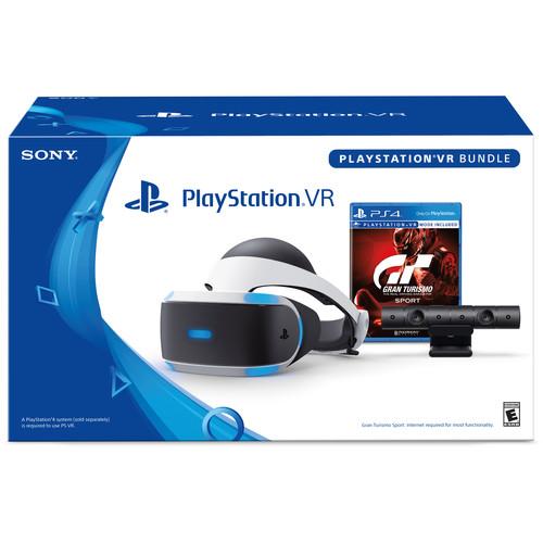 BHPhotoVideo: Playstation VR (Visor + Cámara + Gran Turismo)