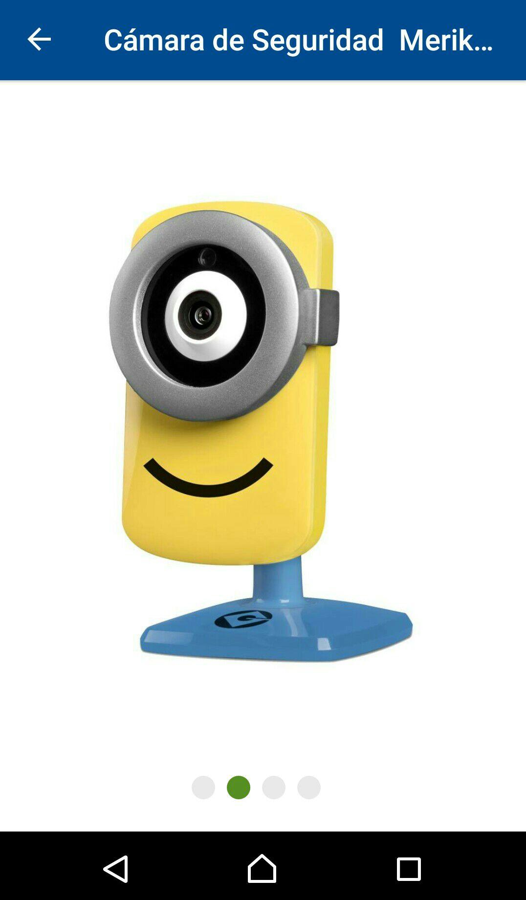 Sams Club Online: Cámara de Seguridad Merik Tend Minion con Wi-fi HD