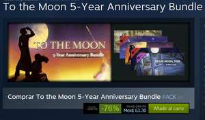 Steam: To the Moon 5-Year Anniversary Bundle