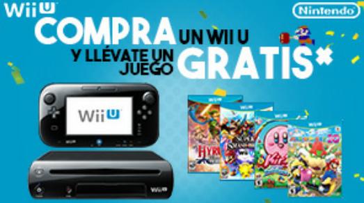 Gameplanet: compra un Wii U y llevate un videojuego de regalo