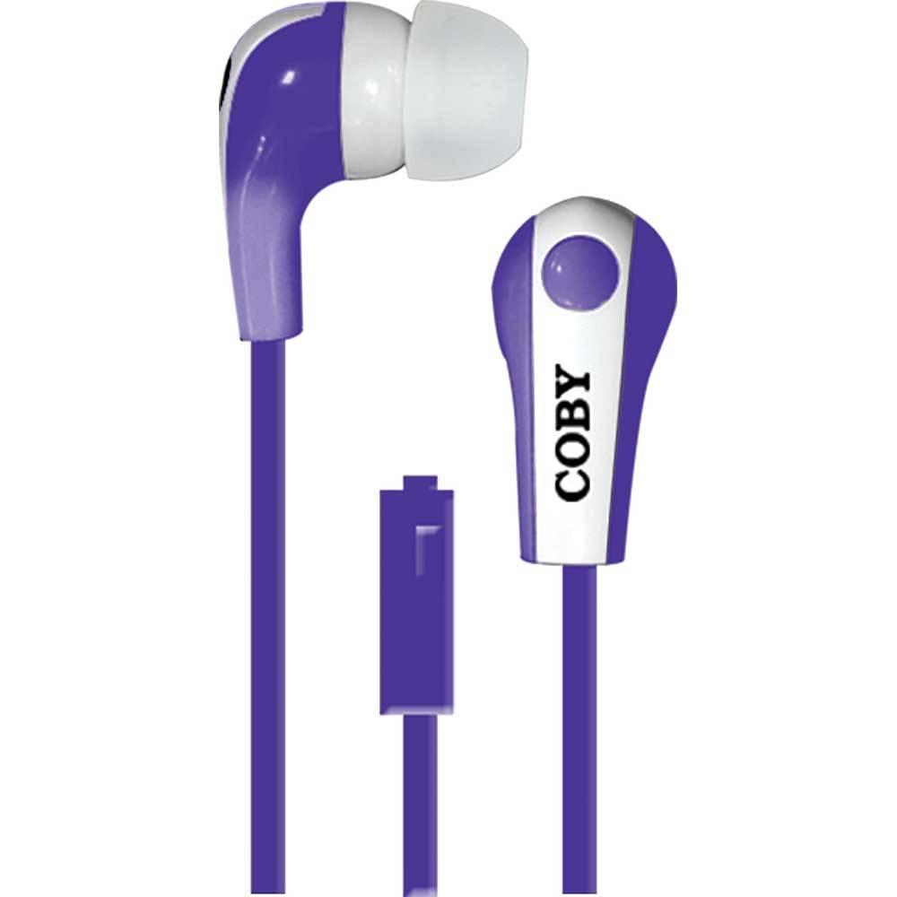 WALMART: Audífonos In Ear Coby CVE-113-PU Morado