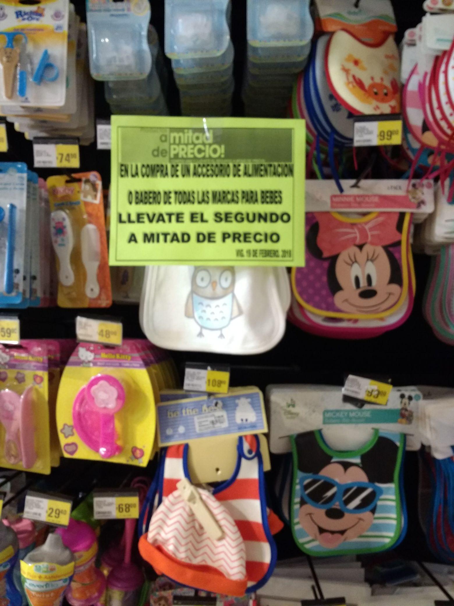 Mega Comercial Puebla: Artículos bebe 2do a Mitad de Precio