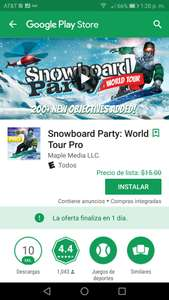 Google Play: Snowboard Party- World Tour Pro