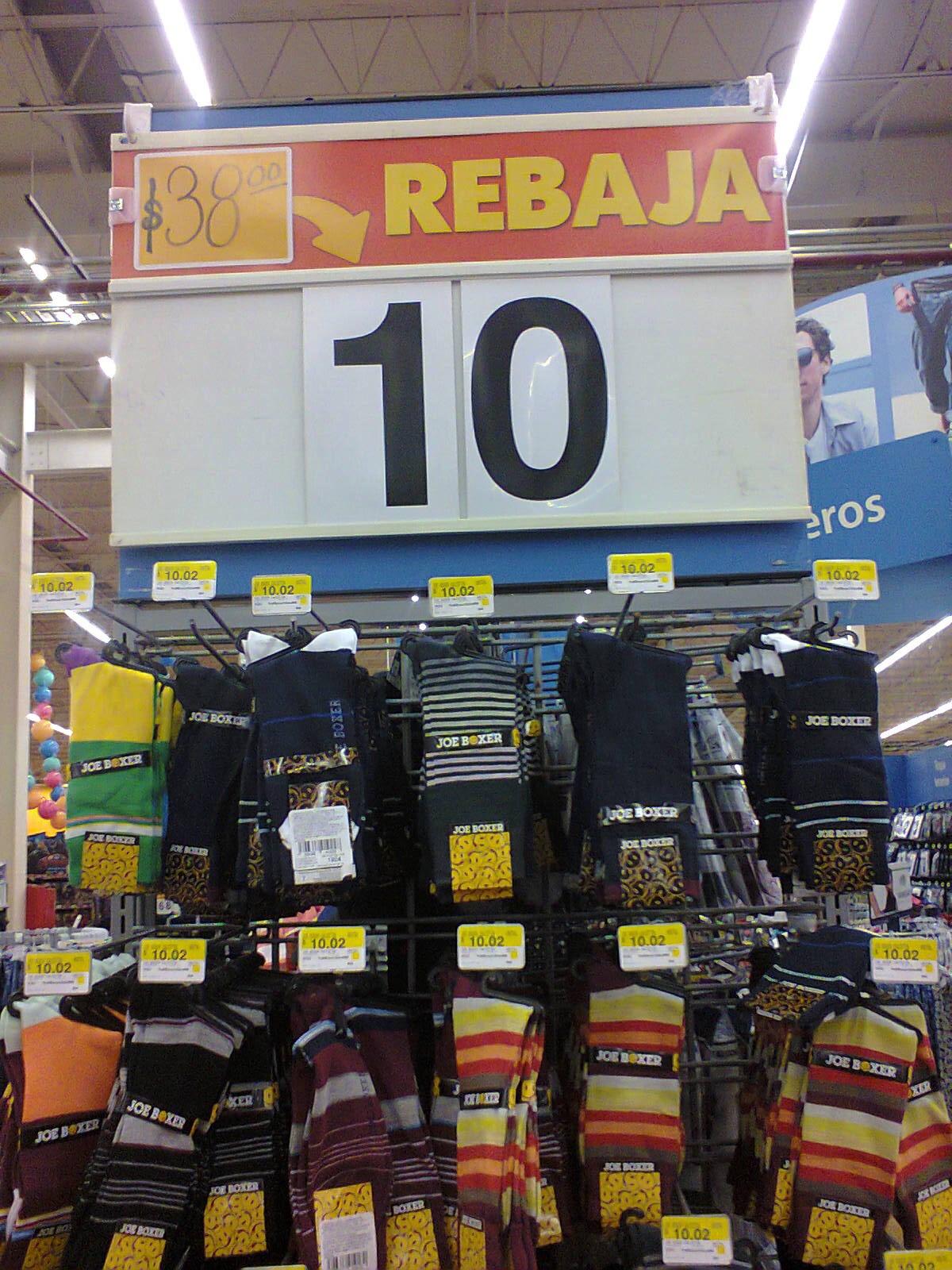 Walmart: calcetines Joe Boxer $10.02