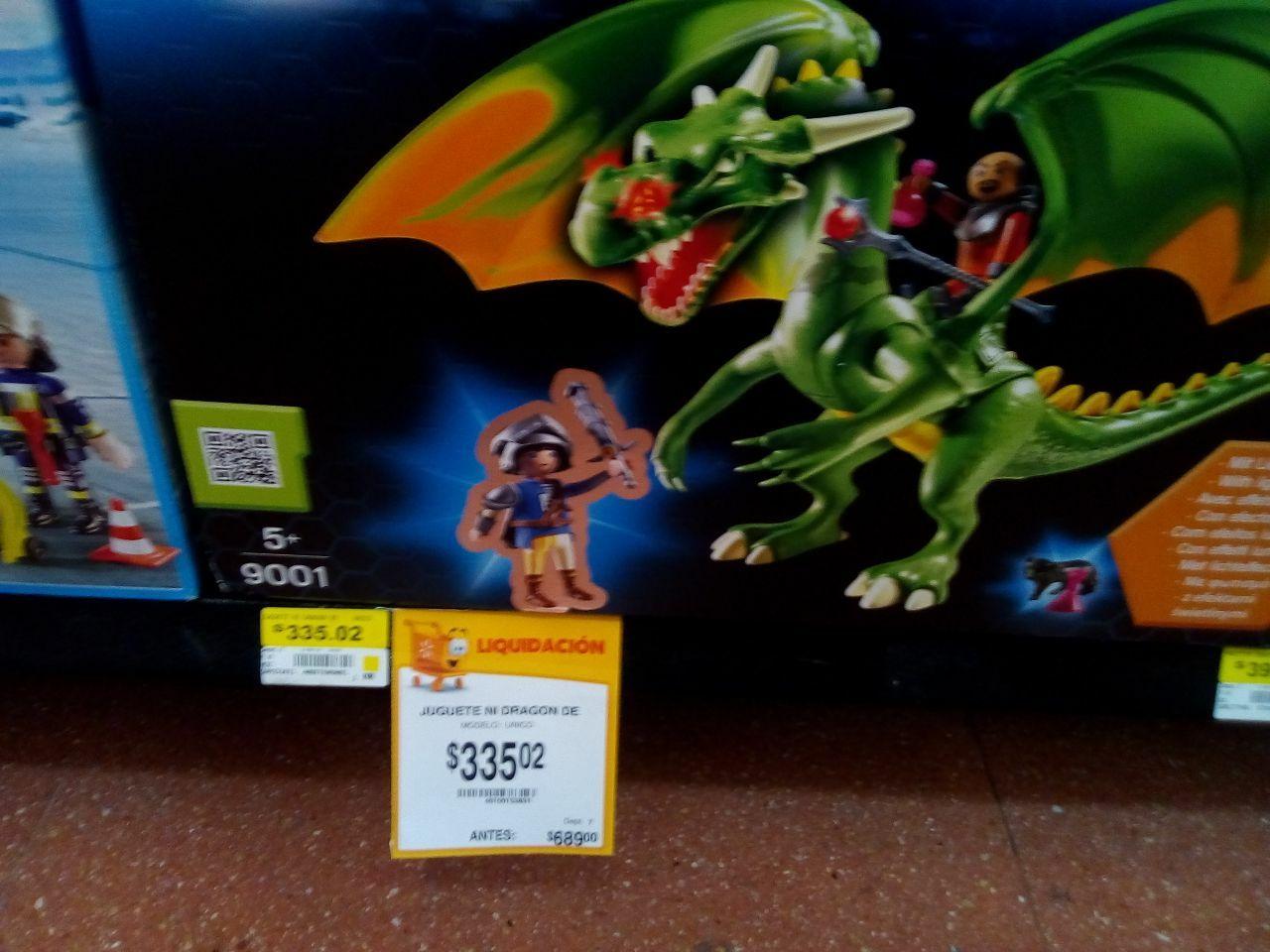 Walmart Plateros: varios juguetes en descuento (ej. Dragon Playmobil)