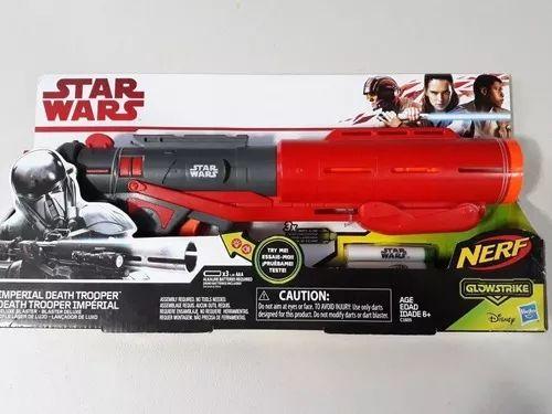 Walmart insurgentes Sur CDMX: Pistola nerf de Star Wars
