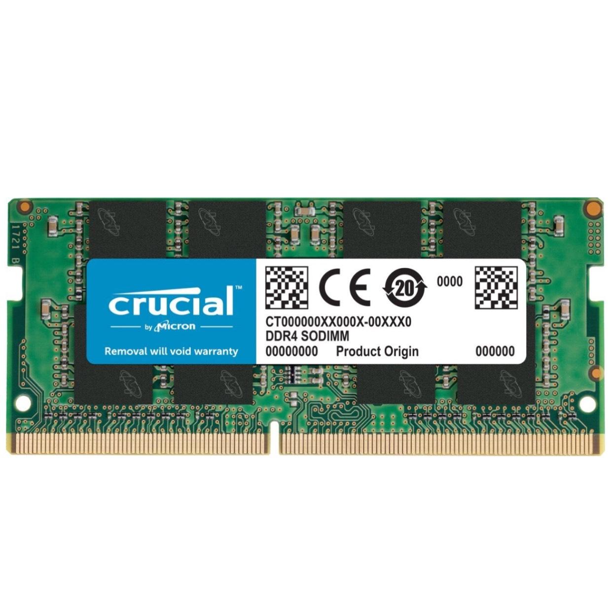 Amazon: Crucial 8GB DDR4 8GB DDR4 2400MHz (laptop)