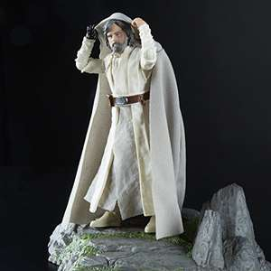 Amazon Black Series Deluxe Isla de Ahch-To & Luke Skywalker (Prime)