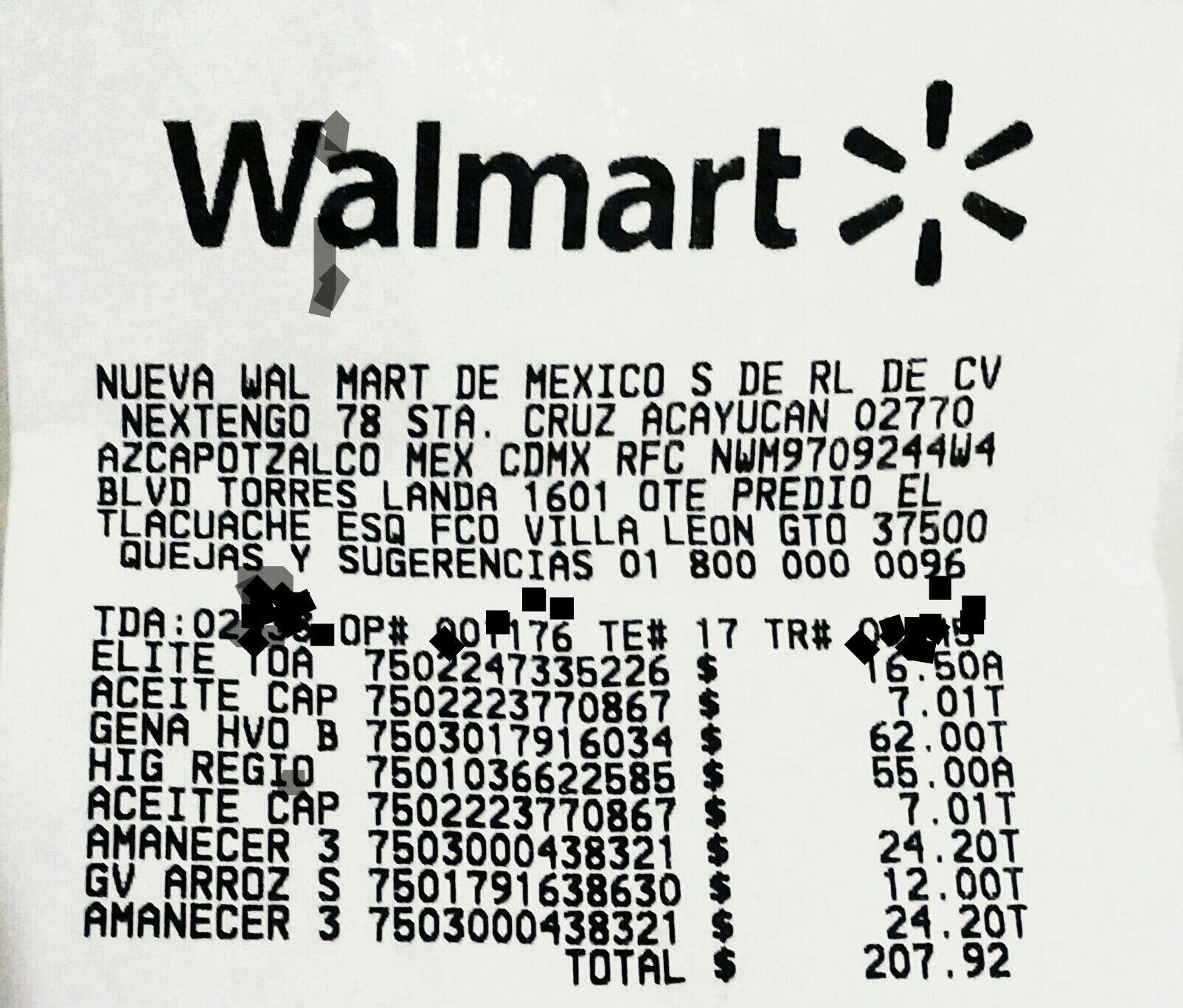 Walmart: Aceite capullo 1 Lt (León GTO)