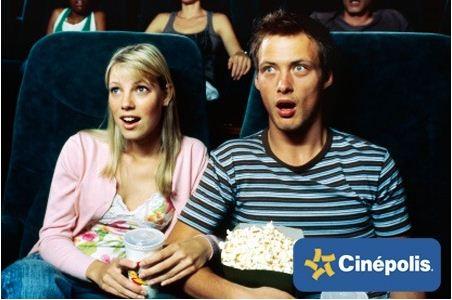 Boletos para Cinépolis desde $22 y Cinepolis VIP desde $83