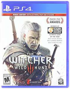Amazon: Witcher Wild Hunt vendido por amazon