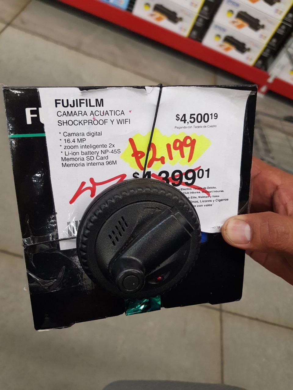 Sam's Club Sta Fe: Cámara Acuática Fujifilm Finepix XP120