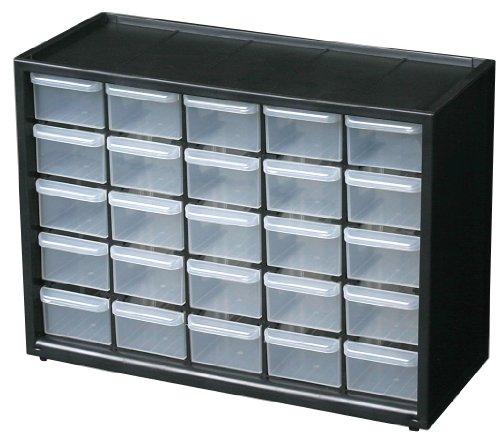 Amazon: modulo de gavetas plastico de 25 gavetas, aplica prime