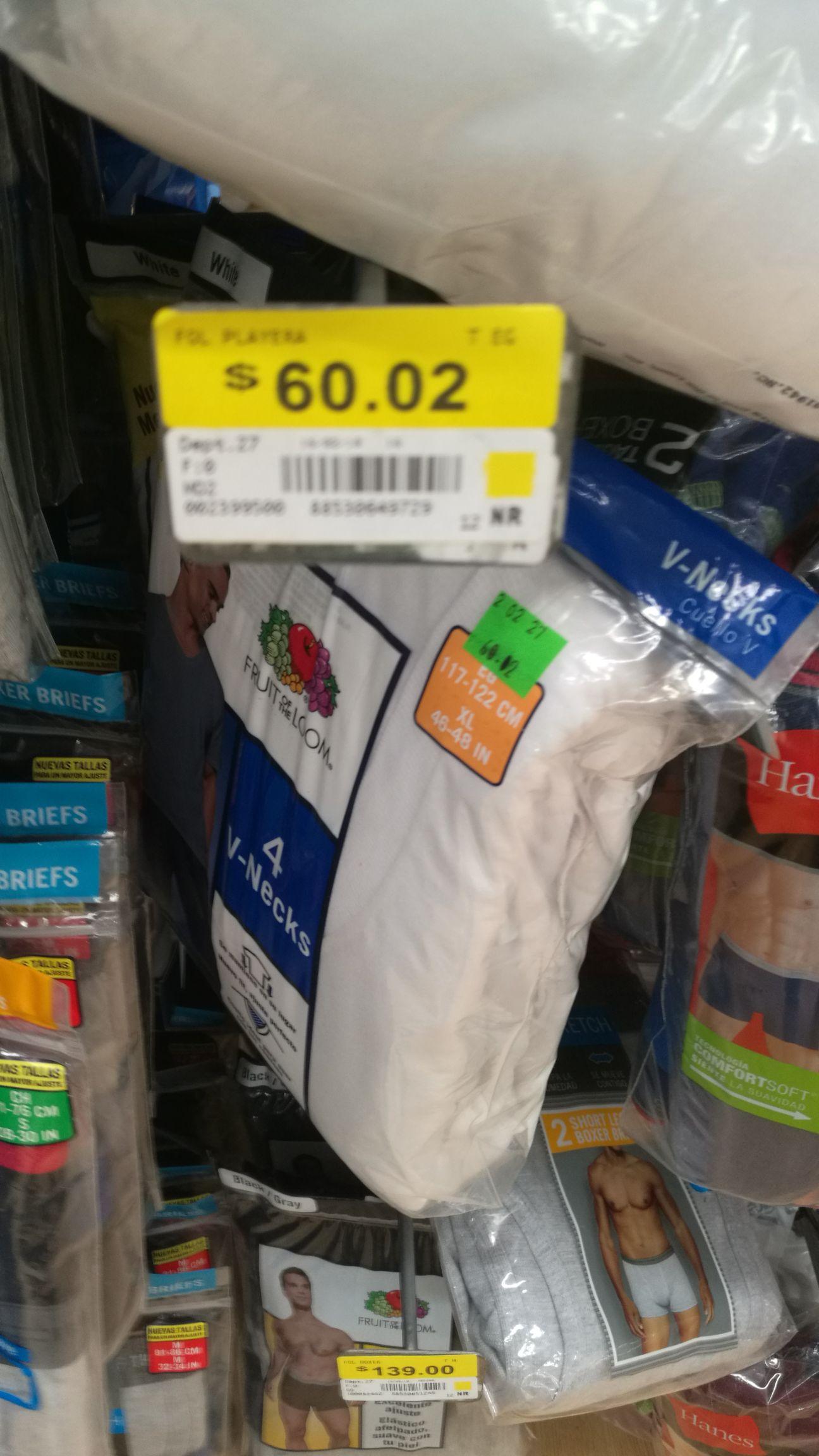 Walmart: liquidación de Cafetera , Playeras y boxer