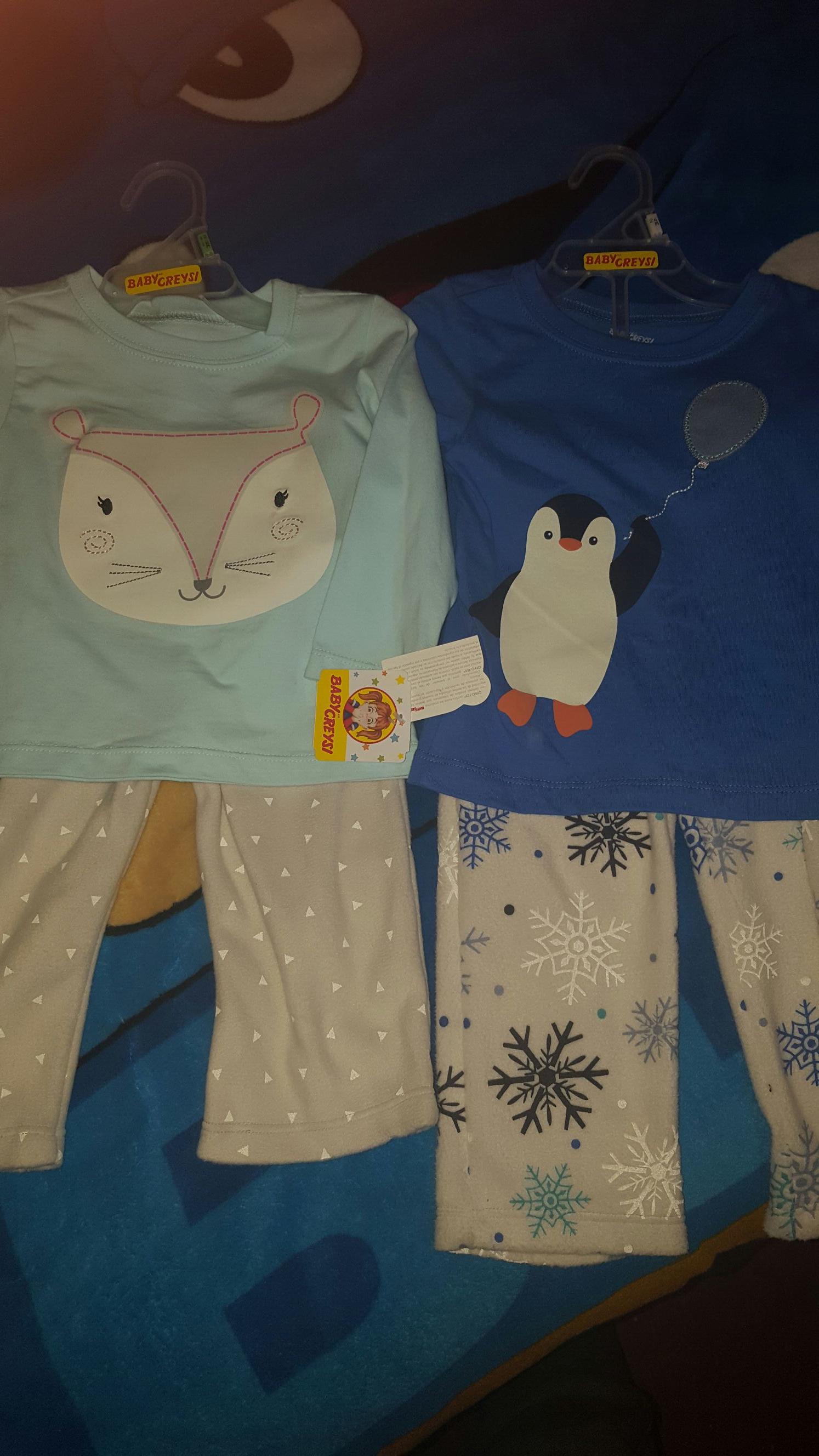 Walmart: liquidación Pijama baby creysi