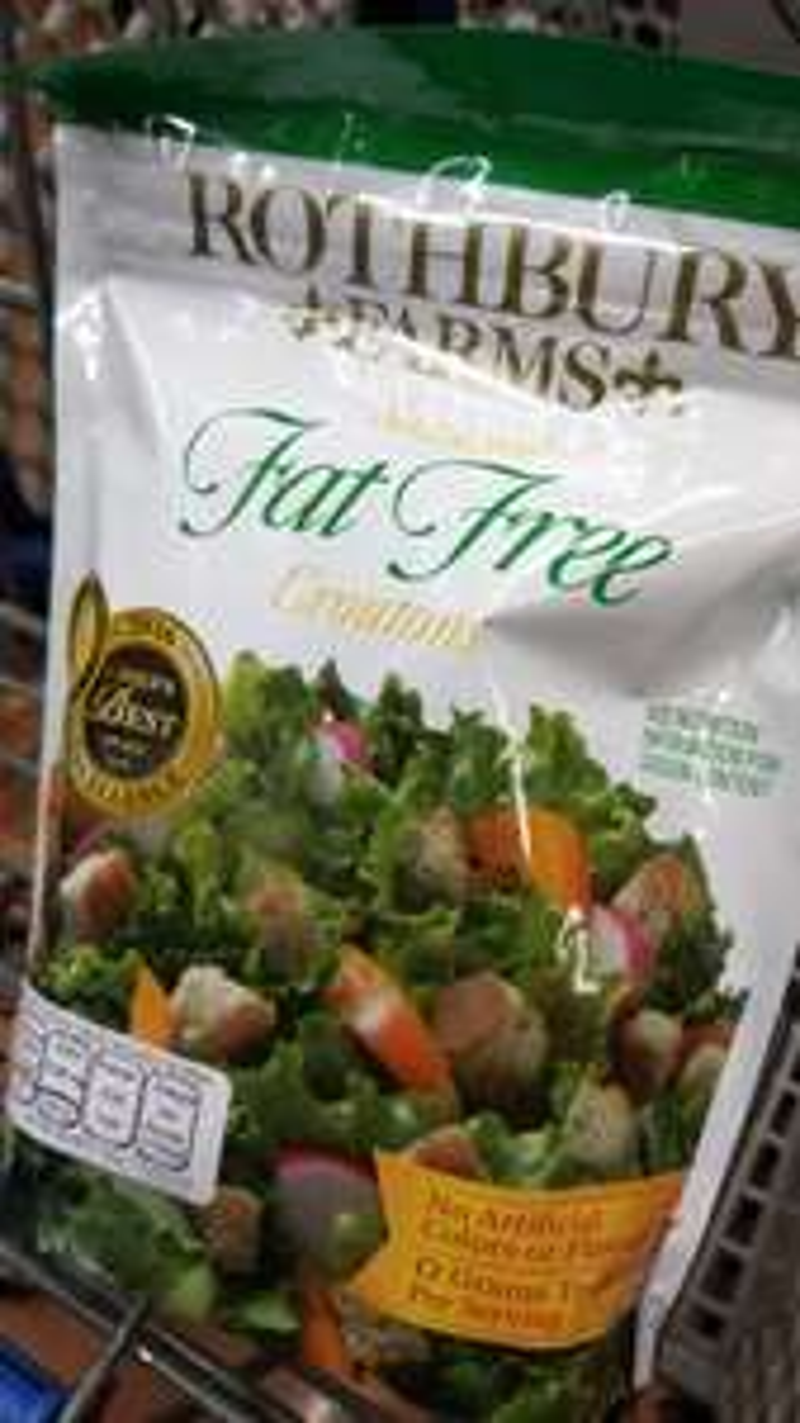 Walmart: Croutones fat free