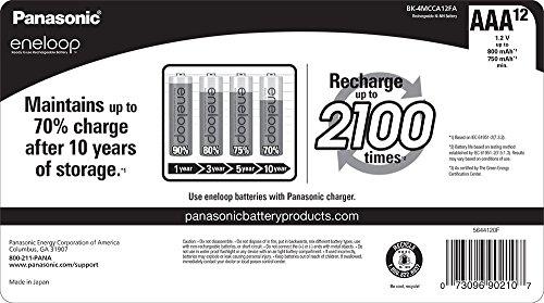 Amazon: 12 baterías AAA Eneloop recargables