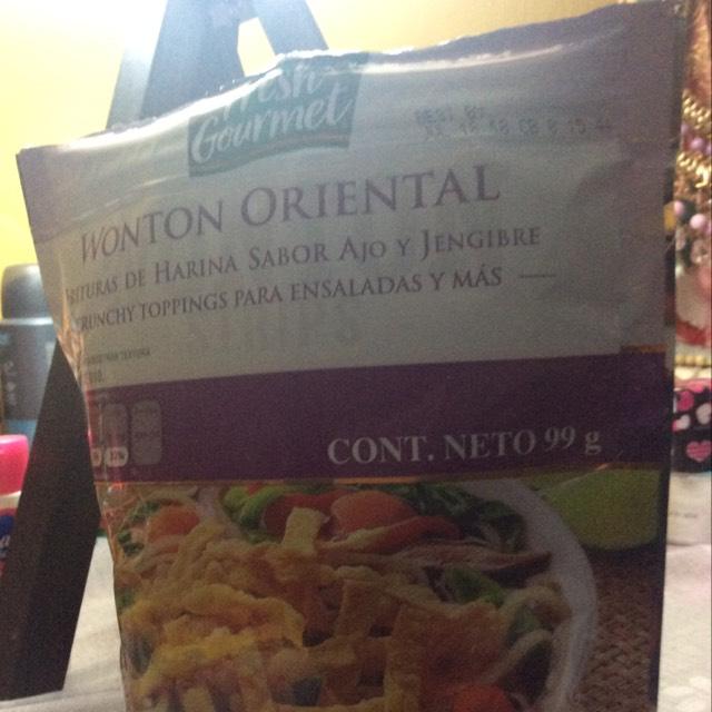 Walmart: Patio santa fe, Frituras de harina para ensaladas.