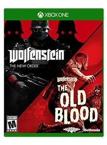 Amazon: Wolfenstein the Two Pack para Xbox One