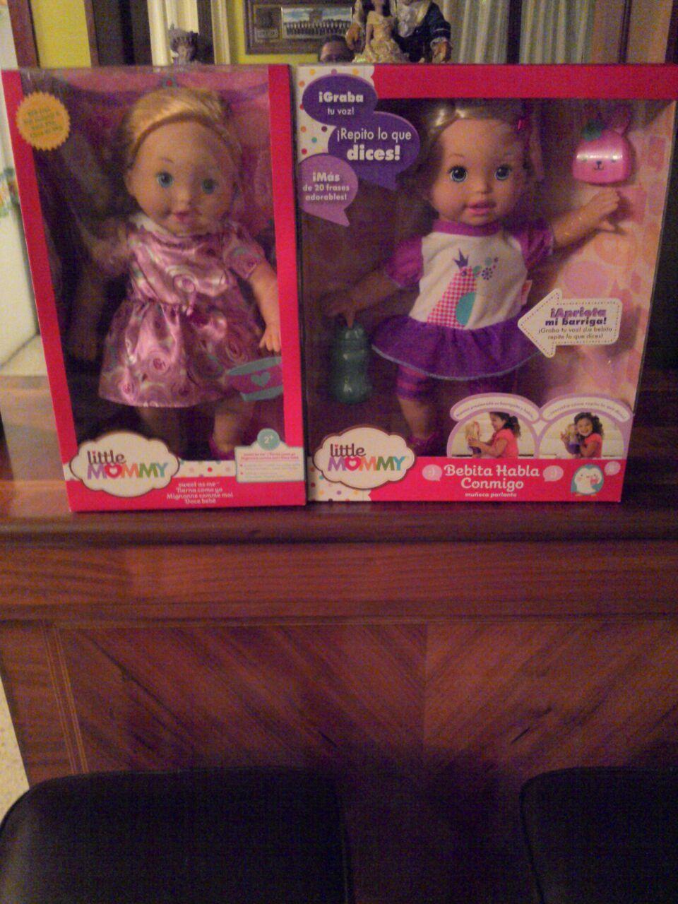 Walmart Rosario: Barbie y Little momy