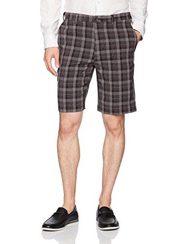 Amazon: pantalón corto Haggar  negro (PRIME)