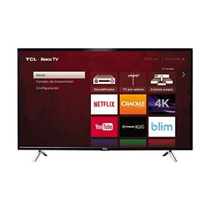 "Amazon: TCL 49"" Roku Smart TV Ultra HD 4K Modelo 49S405-MX (2017)"