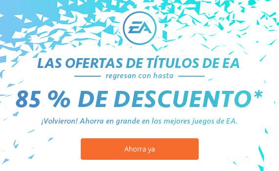 EA: Hasta 85% de descuento en algunos Titulos