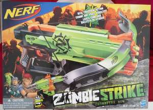 Chedraui: ballesta nerf zombie strike $99 y Bob it star war $139