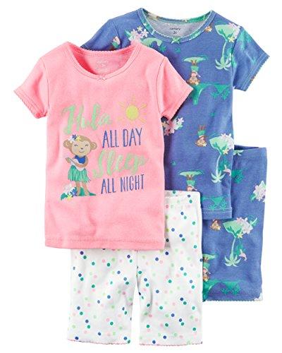 Amazon: Carter´s juego de pijamas para niña 2T (única talla)