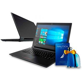 "Linio: Laptop Lenovo V110 Intel Celeron 2.16 GHz 2GbRAM DDR3L, DD 500GB, 14"" FREE DOS + PERFUME"