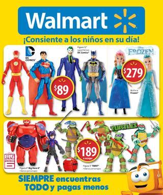 Folleto de ofertas en Walmart del 13 al 30 de abril (nuevo Moto E $1,999)